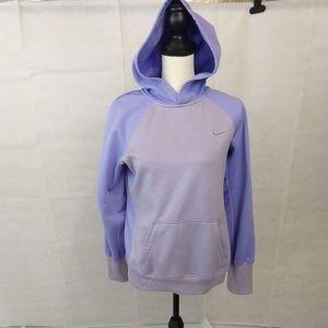 Nike Hoodie Sweatshirt - Lavender - Medium